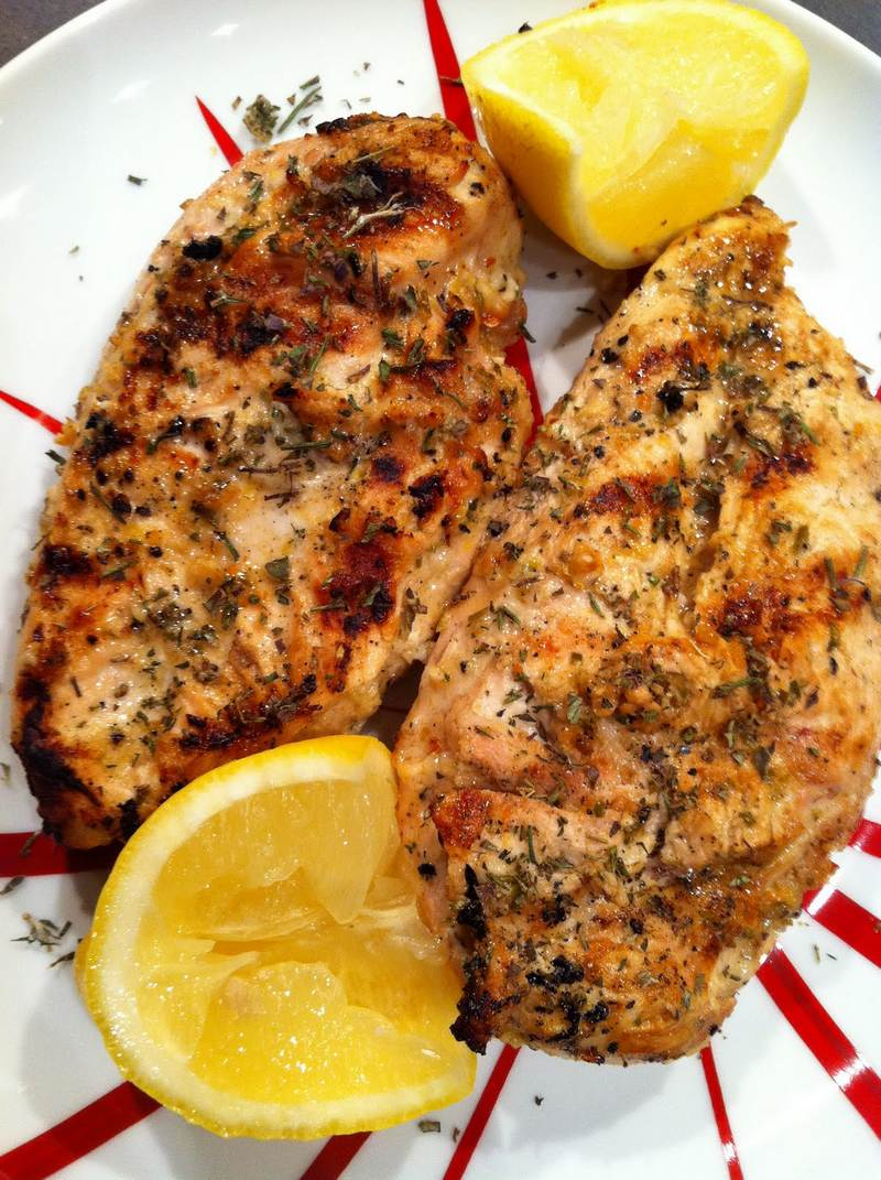 Greek Style Garlic Chicken