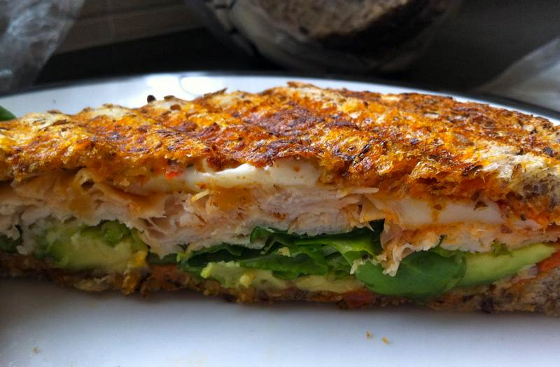 Grilled Turkey Sandwich – There's no place like home