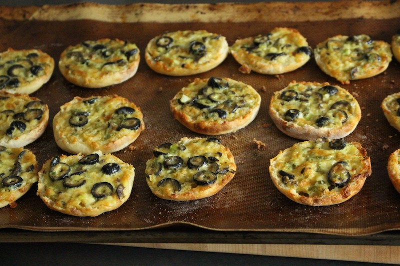Olive Cheese Melts