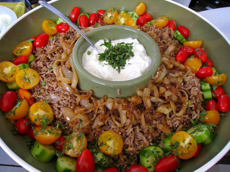 vegetarian, rice recipe, rice and lentil recipe, food, recipe, recipes,