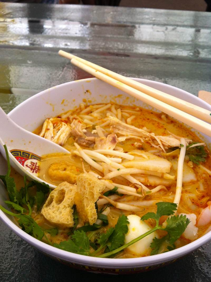 Laksa Soup - Satay Brothers Atwater Market Montreal