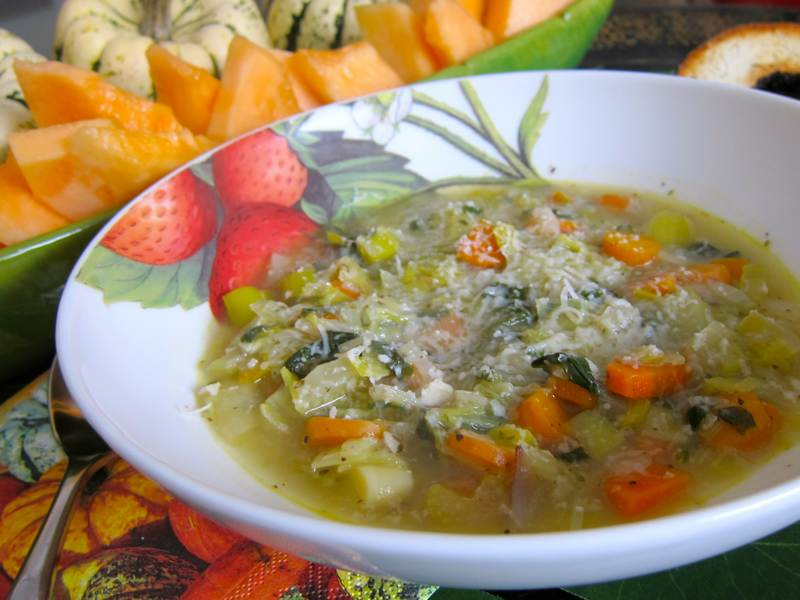 French women don t get fat leek soup recipe