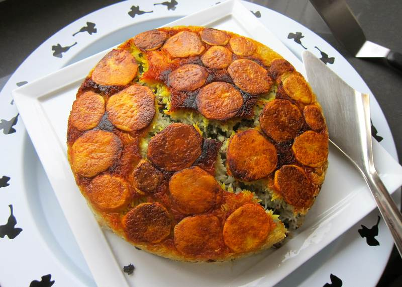 Persian Rice with Turkey – Aromatic!