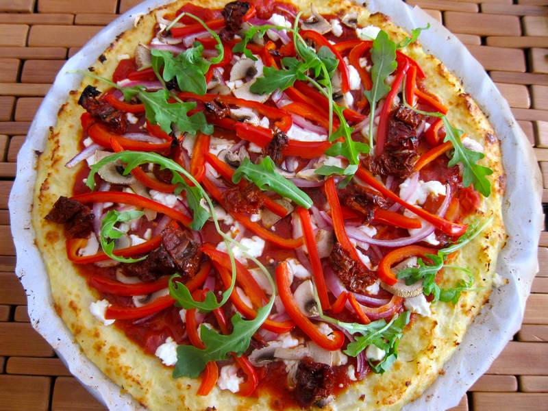Cauliflower Crust Pizza – Do Not Passover!