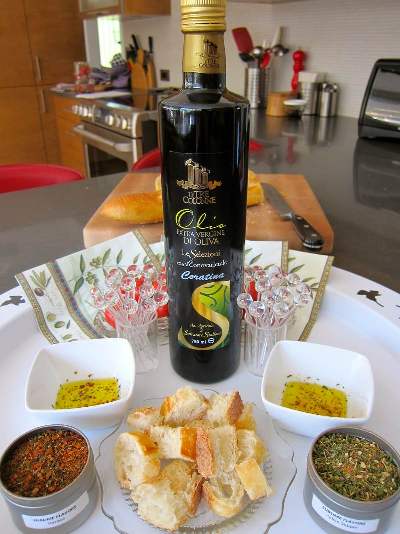Extra Virgin Olive Oil - Le Tre Colonne Coratina