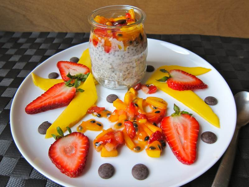 Chia Coconut Delight – Overflowing Passion