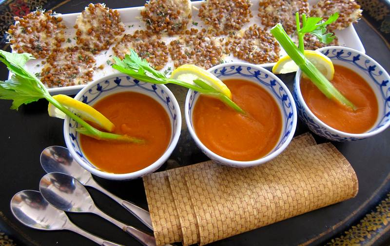 Bloody Mary Lentil Soup