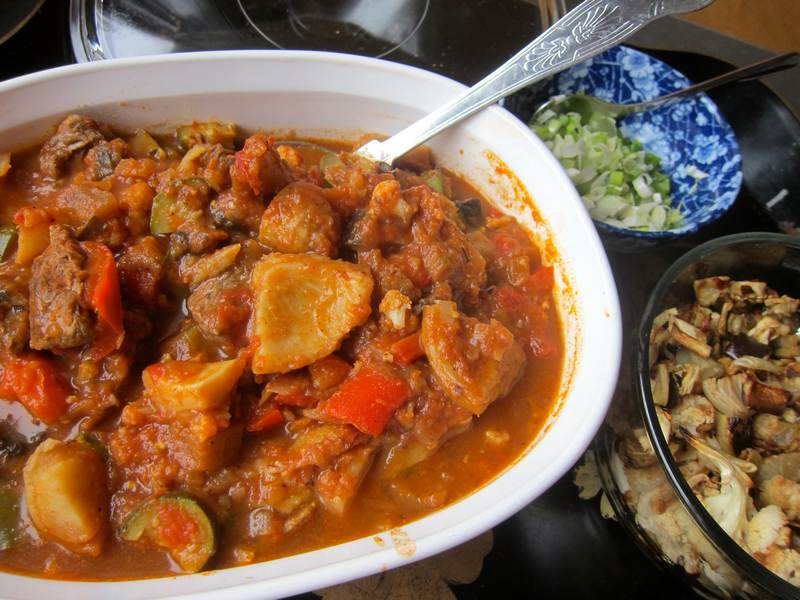 Lamb Stew with Artichoke Hearts – One Pot Meal