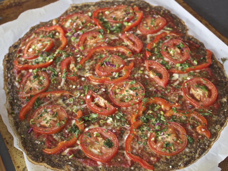 Mushroom Crust Pizza – For Special Guests
