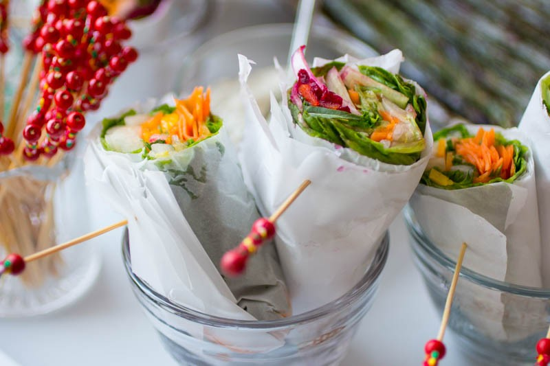 Salad Wraps – Playful!