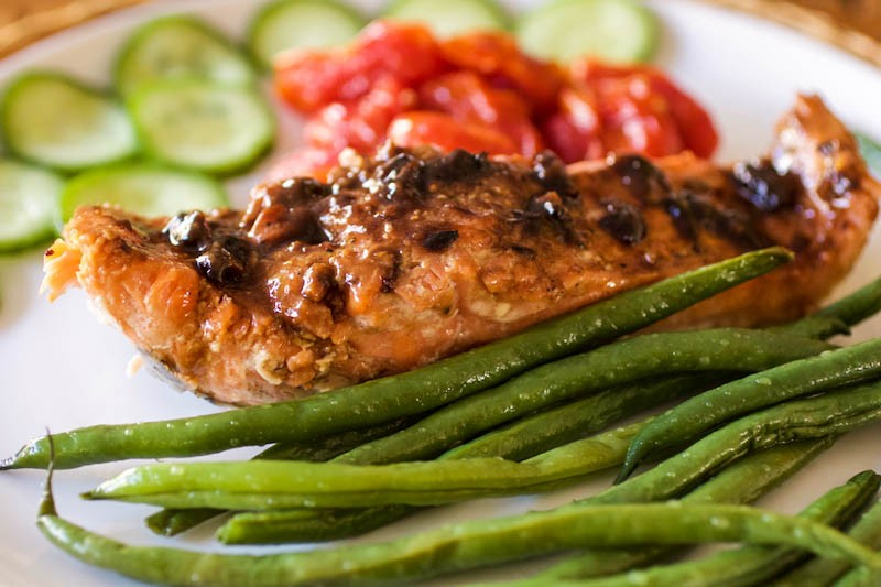 Umami Salmon – Yummy! Black Bean Garlic Sauce – Korean BBQ Sauce