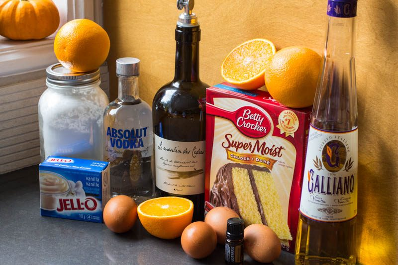 Harvey Wallbanger Cake