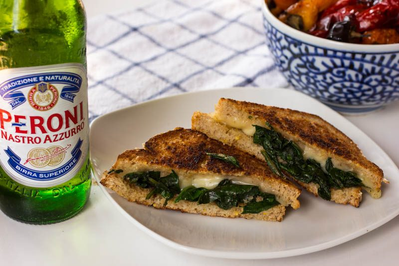 Dill Weed Grilled Cheese – Paired with Beer